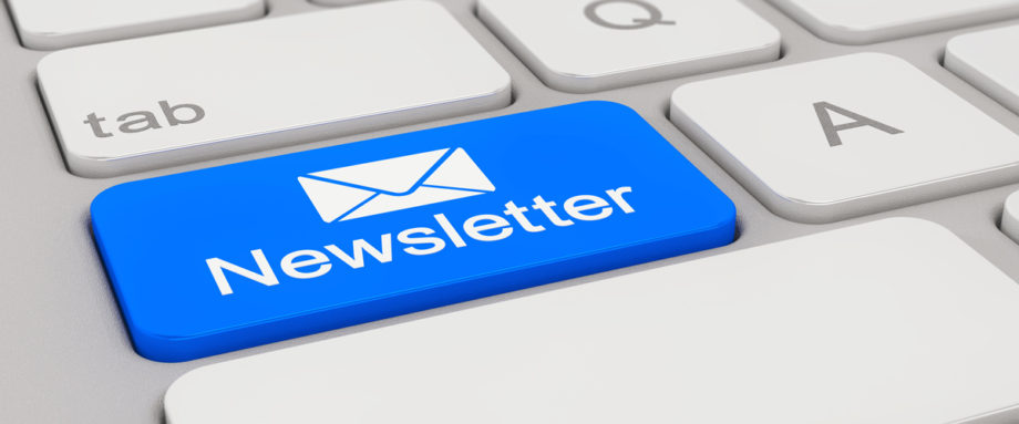 Sign up for our free newsletter